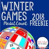 Winter Olympics 2018 FREEBIE