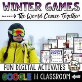 Winter Games 2018 Google Classroom Activities