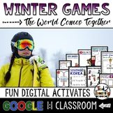 Winter Games 2018 Google Classroom for Winter Olympics 2018