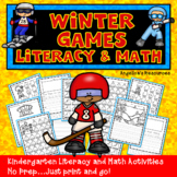 Winter Olympics 2018 : Literacy and Math Printables - Just
