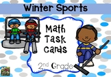 Winter Olympics 2018 Math Task Cards (2nd grade)