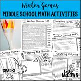Winter Olympics 2018 Middle School Math Activities