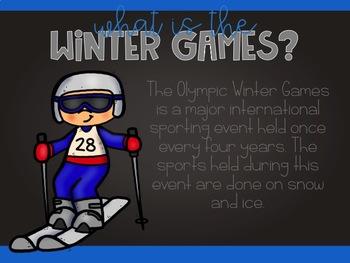 Winter Olympics 2018 PowerPoint