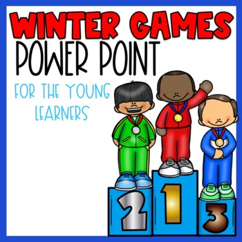 Winter Olympics 2018 PowerPoint for younger learners