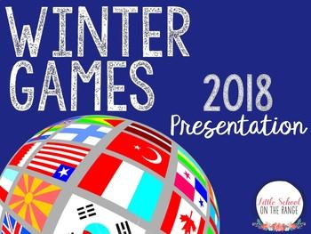 Winter Olympics 2018 Presentation