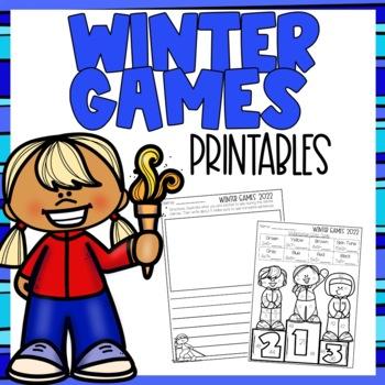 Winter Olympics 2018 Printables