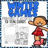 Winter Olympics 2018 Printables for younger learners