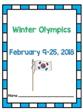 Winter Olympics 2018 - PyeongChang -  February 9-25, 2018