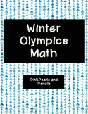 Winter Olympics (2018) Real World Math Printable!