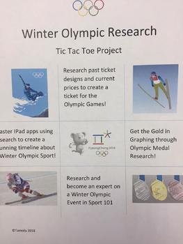 Winter Olympics 2018 Research TIC TAC TOE