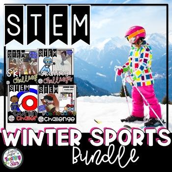 Winter Sports STEM Challenges Bundle