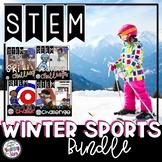 Winter STEM Sports Challenges Bundle