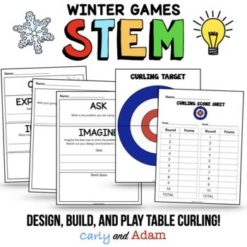 Winter Games Curling STEM Activity