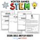 Winter Games Hockey STEM Activity