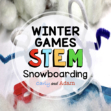 Winter Games STEM Activity: Snowboarding - NGSS Aligned