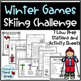 Winter Olympics 2018 - Skiing Challenge