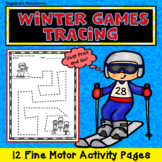 Winter Olympics 2018 : Winter Games Tracing - Fine Motor A