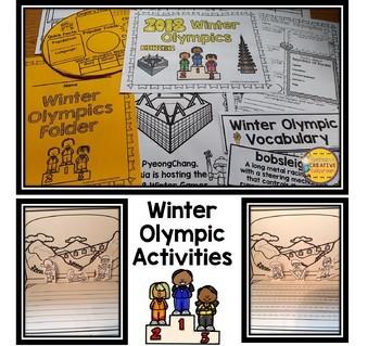 Winter Games 2018 Activities