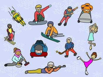 Winter Games - A Game for Practicing Ta, Ti-Ti and so, mi, la (treble clef)