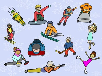 Winter Games - A Game for Practicing Ta, Ti-Ti and so, mi, la (stick notation)