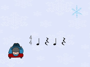 Winter Games - A Rhythm Game for Practicing the Quarter Rest