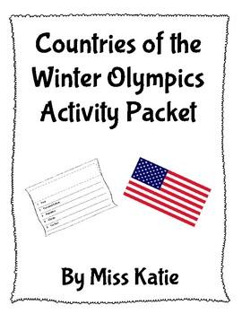Winter Olympics Activity