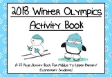 Winter Olympics Activity Book For Middle To Upper Primary/