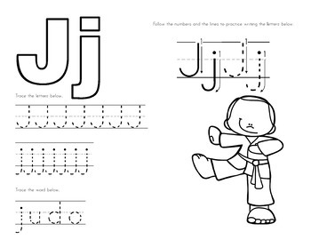 Winter Olympics Alphabet Tracing Worksheets