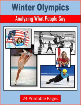 Winter Olympics (Analyzing What People Say) - Famous Americans
