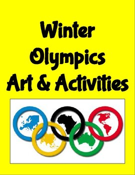 Winter Olympics Art & Activities
