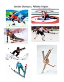 Winter Olympics Athlete Angles