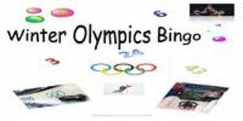 Winter Olympics Bingo