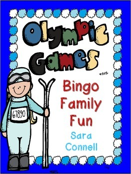 Winter Olympics Bingo:  Family Fun