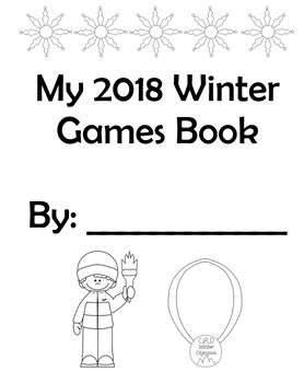 2018 Winter Olympics Book and Activities - *Updated