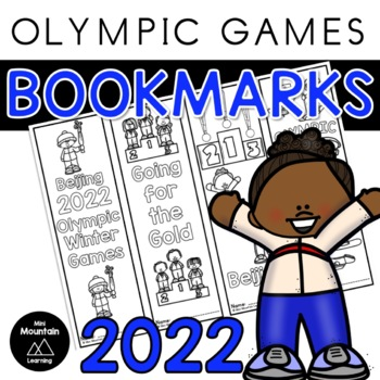 Winter Olympics Bookmarks