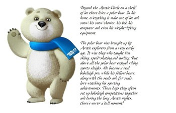Winter Olympics Bulletin Board
