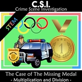 Winter Olympics 2018 CSI: The Case of the Missing Gold Medal STEM activity