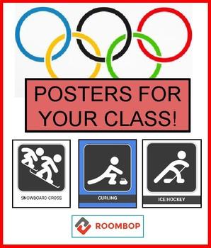 Winter Olympics - Classroom Posters