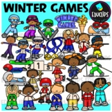 Winter Games Clip Art Bundle {Educlips Clipart}