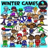 Winter Games Clip Art Bundle {Educlips Clipart}