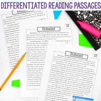 Winter Games - Close Reading