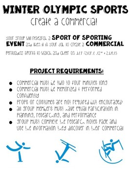 Winter Olympics Commerical Project