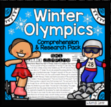 Winter Olympics Comprehension Passages and Research Packet