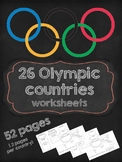 Winter Olympics 2018 worksheets