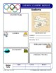 Winter Olympics Country Report Template Set