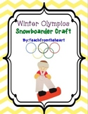 Winter Olympics Craft (Snowboarder)