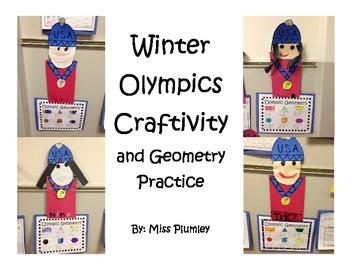 Winter Olympics Craft and Geometry Practice