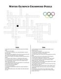 Winter Olympics Crossword Puzzle