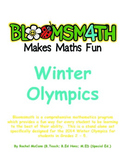 Winter Olympics Data and Graphing Maths Bloomsmath Activities