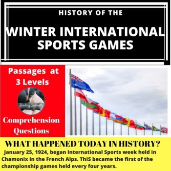 Winter Olympics Differentiated Reading Passage January 25